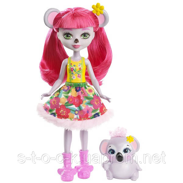 Mattel Enchantimals FCG64 Кукла Карина Коала, 15 см