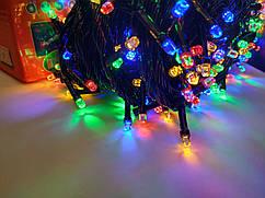 Гирлянда новогодняя Рубин(Точка, Кристалл) светодиодная LED 400 лампочек