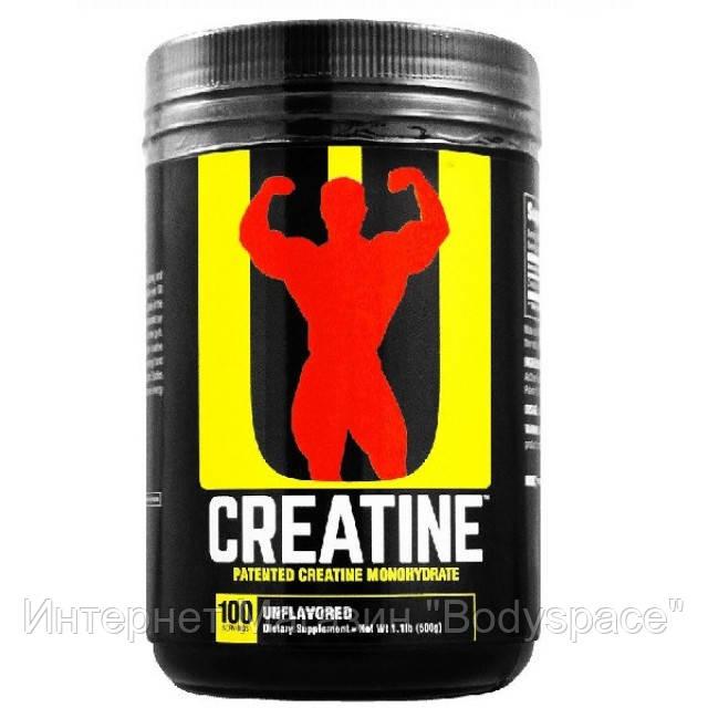 Universal Nutrition, Креатин Creatine Monohydrate Powder, 500 грамм