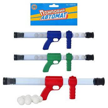 Автомат с мягкими пулями 0616 (Зелёный)