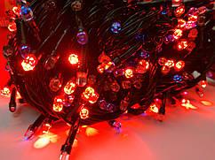 Гирлянда новогодняя Рубин(Точка, Кристалл) светодиодная LED 300 лампочек
