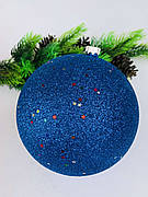 Ялинкова куля. Великий новорічний куля на ялинку(15 см)