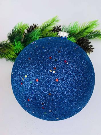 Елочный шар. Большой новогодний шар на елку(15 см), фото 2
