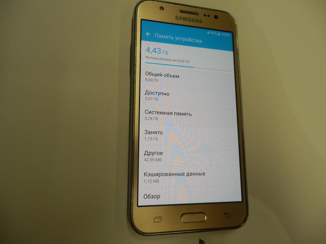 Мобильный телефон Samsung Galaxy J5 SM-J500 270ВР