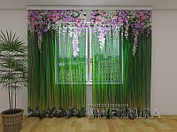 ФотоТюль Лембрекены из цветов