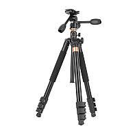 Штатив + монопод фирмы QZSD для фотоаппаратов - Q-620H (Q620H) + головка Q80