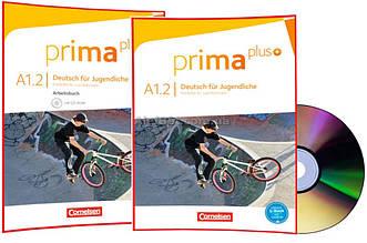 Немецкий язык / Prima plus / Schülerbuch+Arbeitsbuch+CD. Учебник+Тетрадь (комплект), A1/2 / Cornelsen