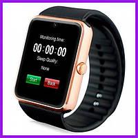Смарт-часы Smart Watch GT-08 Gold. Умные часы. Часы. Часи. Умные смарт часы. Фитнес-трекер. Детские умные часы
