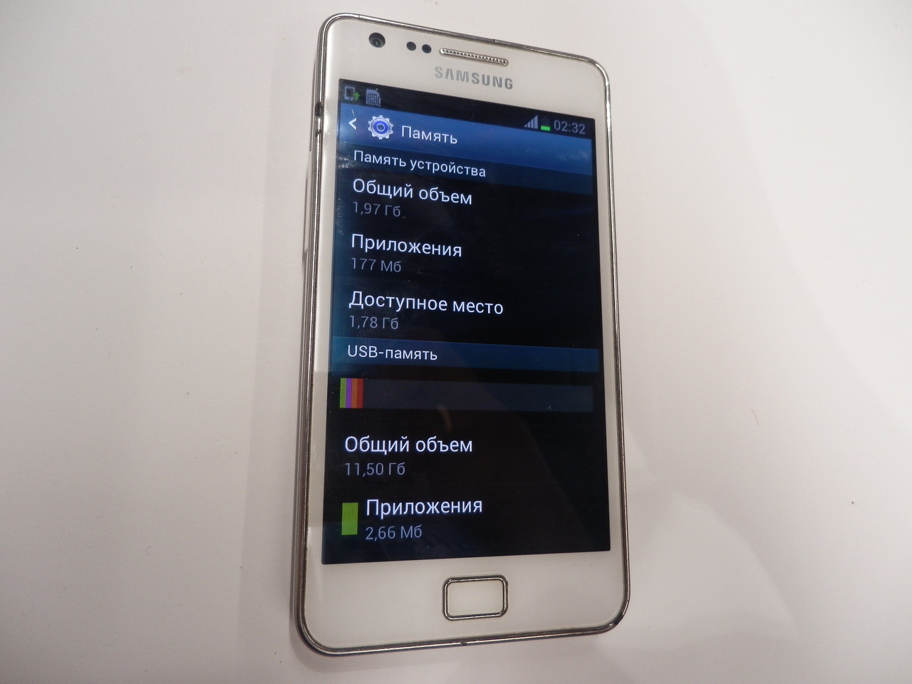 Мобильный телефон Samsung i9100 19ВР