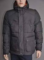 Куртка-Пуховик чоловіча темно-оливкова XL «Puffa» (Велика Британія)