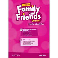 """Книга для учителя Family and Friends 2nd Ed Starter Teacher""""s Book Plus with Assessment and Resource CD-ROM and Audio CD"""