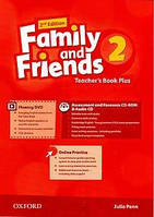 "Книга для учителя Family and Friends 2nd Edition 2 Teacher""s Book Plus with Assessment and Resource CD-ROM and Audio CD"