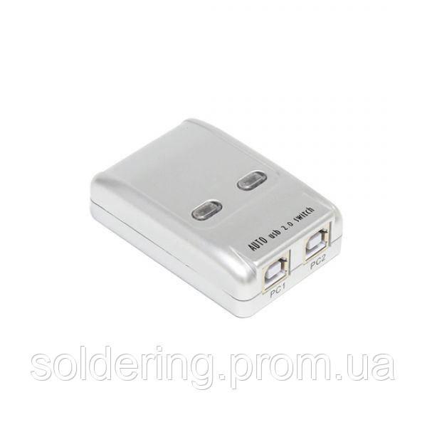 Разветвитель USB (B) на 2 гн.USB (B) Mt-Viki MT-SW221