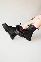 Женские зимние ботинки Dr. Martens Jadon с мехом, фото 2