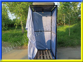Дачный душ для улицы (бак на 150 л, разборная конструкция)