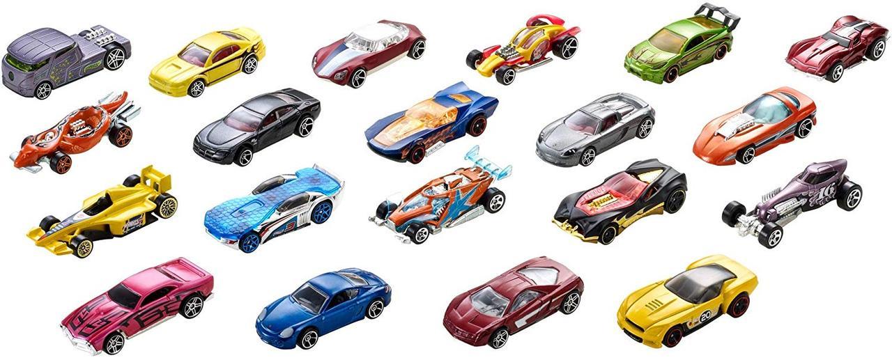 Игровой подарочный набор Хот Вилс 20 машинок Hot Wheels 20 Cars Gift Pack