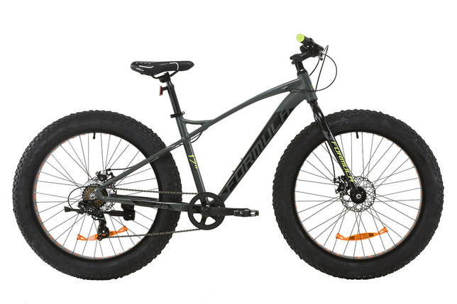 """Велосипед AL 26"""" Formula PALADIN DD 2020 (серо-салатный (м)), фото 2"""