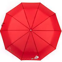 Зонт женский автомат однотонный разные цвета в коробке