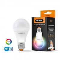 Светодиодная смарт лампа VIDEX A60 RGBCW 12W E27 220V WI-FI