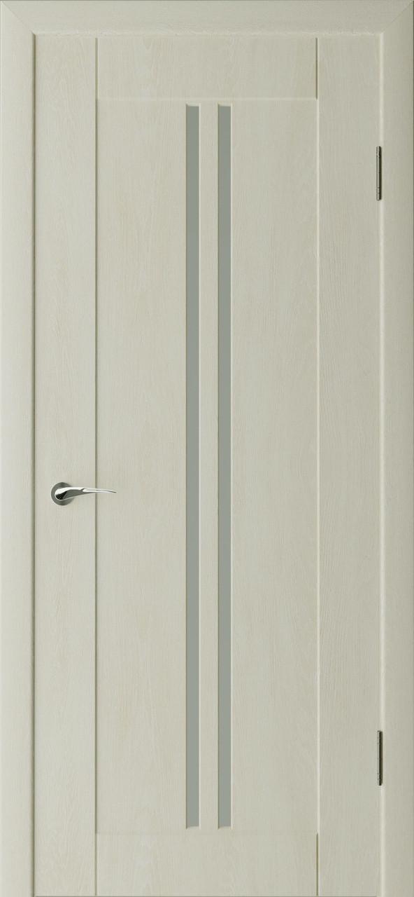 Міжкімнатні двері Неман зі склом ҐРАНД Н-31 дуб крем