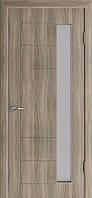 Міжкімнатні двері Неман  зі склом ГЕОМЕТРІЯ Н-32 дуб англійський