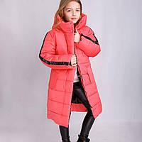 Р-р 128, 134, 140, Куртка детская зимняя на девочку, Пальто зимнее детское