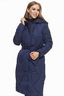 Женская зимняя куртка синяя  Tiger Force 9131