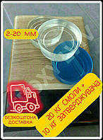 Епоксидна смола для пошарових заливок+затверджувач (30 кг)/эпоксидная смола