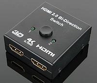 HDMI свитч 4K / свич  на 2 порта , Switch / Spliter bi direction сплиттер, фото 1