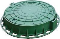 Люк полімерний зелнный 6т
