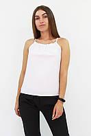 S, M, L / Стильний жіночий топ Fraidy, білий, фото 1
