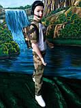 Одежда для Кена - костюм камуфляжный, фото 3
