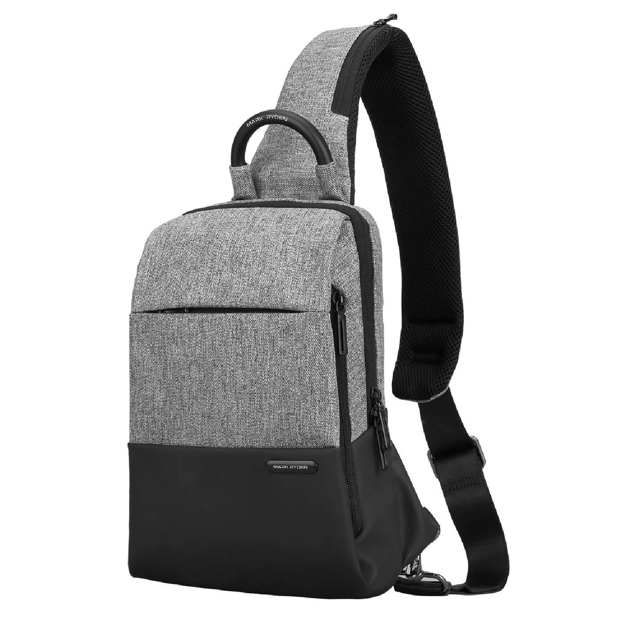 Рюкзак с одной лямкой Mark Ryden Mini Lux MR7558 Gray