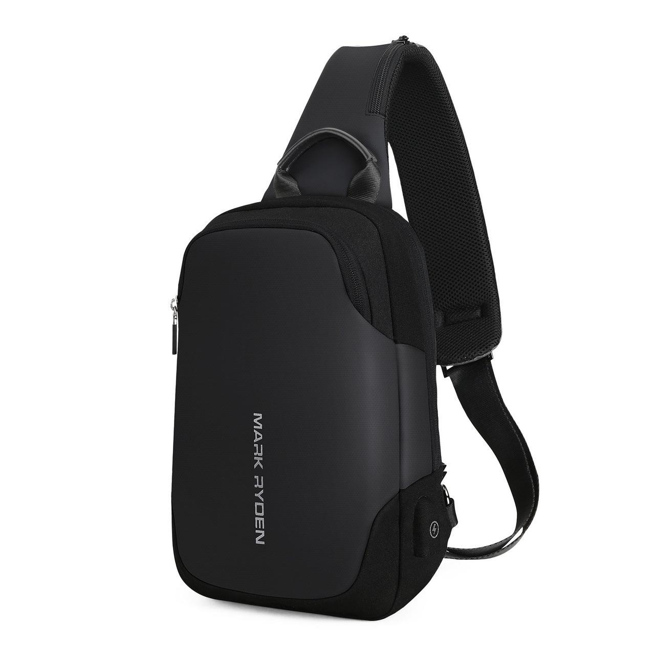 Рюкзак с одной лямкой Mark Ryden Mini Secret MR7056 Black