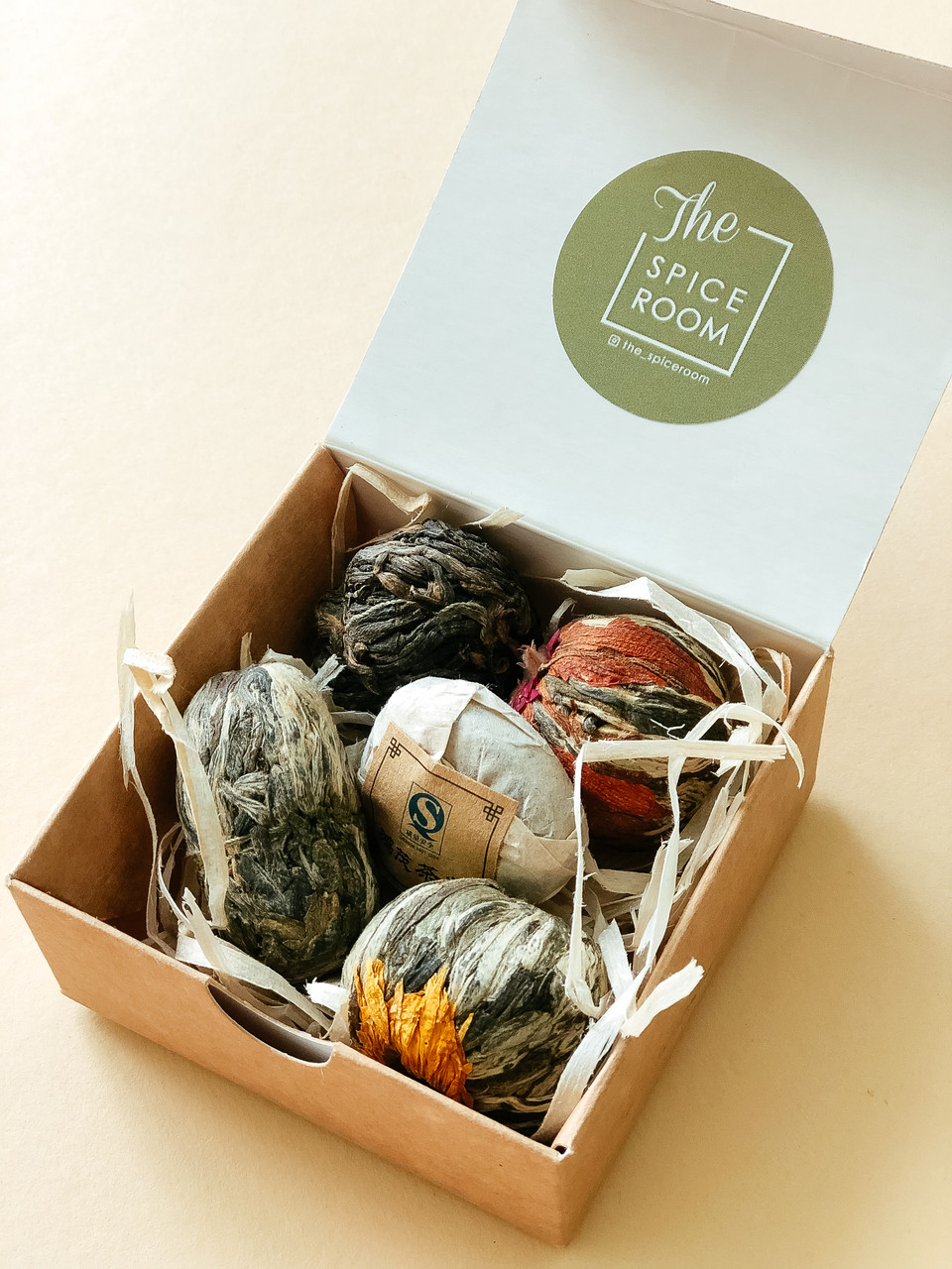 Подарочный набор The Spicebox / Вязаный чай