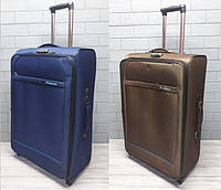Большой дорожный чемодан на колесах с телескопической ручкой Golden Horse