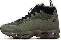 Мужские зимние кроссовки Nike Air Max 95 Sneakerboot (Найк Аир Макс) хаки