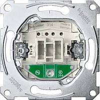 Механизм выключателя 1-кл. проходного с подсветкой Merten MTN3136-0000