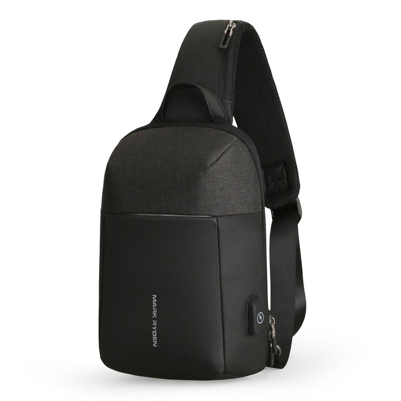 Рюкзак с одной лямкой Mark Ryden MiniPanzer MR7000 Black