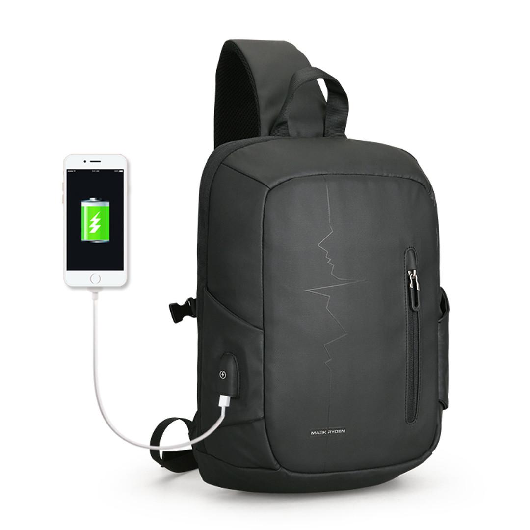 Рюкзак с одной лямкой Mark Ryden Minipulse MRK9087 Black