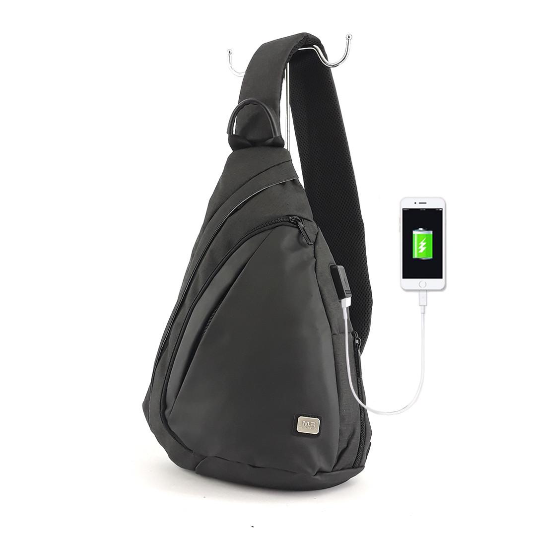 Рюкзак с одной лямкой Mark Ryden Space MR6847 Black