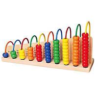 """Набір для навчання Viga Toys """"Вчимося рахувати"""" (50022), фото 1"""