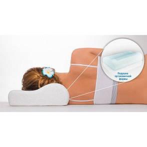Подушка ортопедическая Tina Memory Foam Pillow с памятью, фото 2