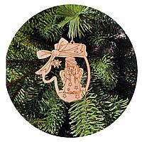 """Игрушка на елку """"Ангелочек"""" (деревянная)"""