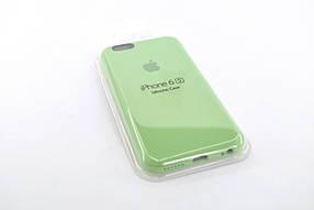 Чохол для телефону iPhone 6 / 6S Silicone Case original FULL №18 green