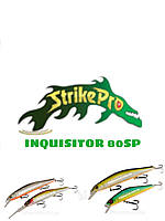 Воблер суспендер Strike Pro Minnow INQUISITOR 80SP