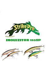 Воблер Strike Pro Minnow INQUIZITOR 110SP