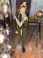 Теплый женский костюм спортивный, фото 1