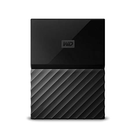 Внешний жесткий диск WD My Passport Mac 4TB (WDBP6A0040BBK-WESE)
