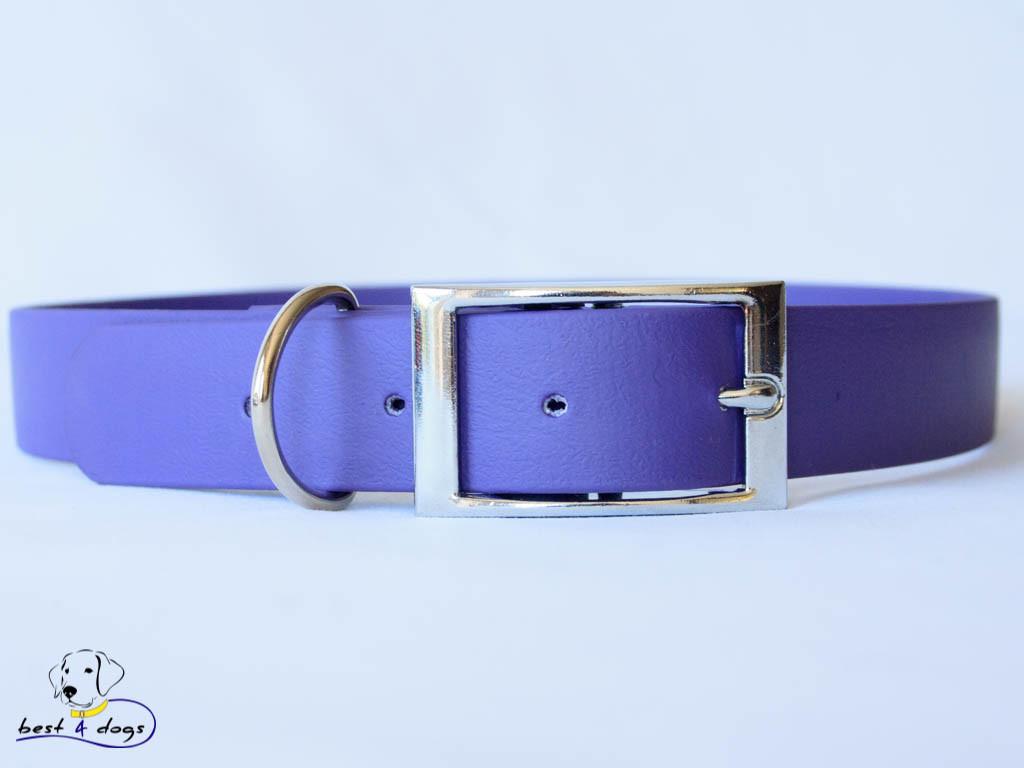 Ошейник из биотана, Фиолетовый, 16мм(пряжка металл)
